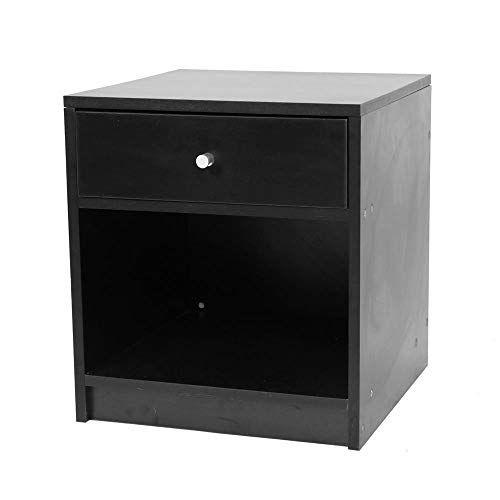 Best Modern Nightstand Set Black End Table Bedroom Furniture 640 x 480