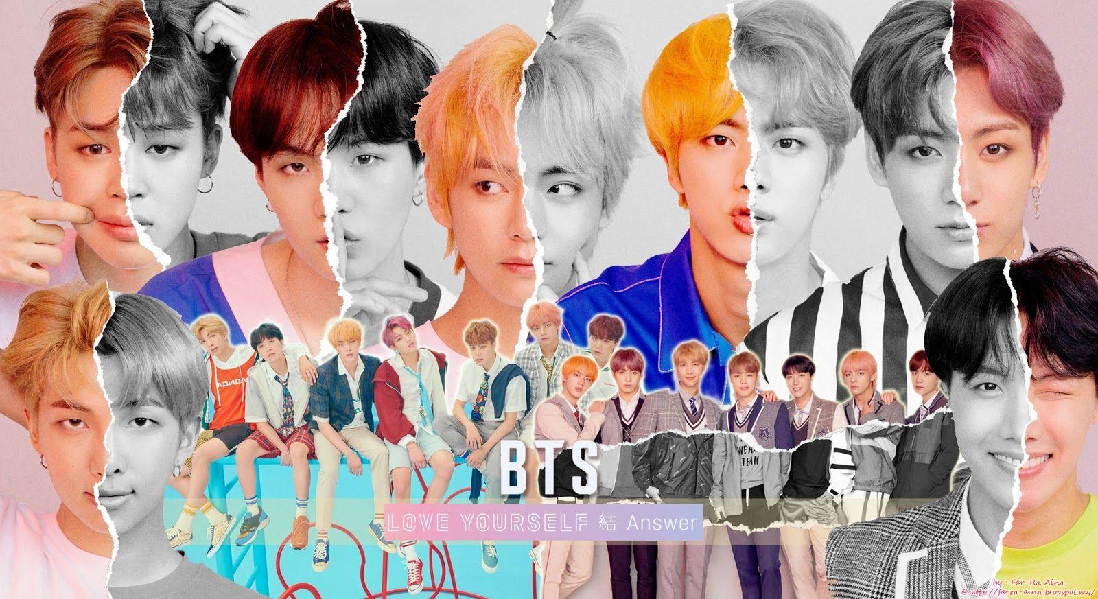 KPOP BTS DNA Desktop Wallpapers in 2020 Bts wallpaper