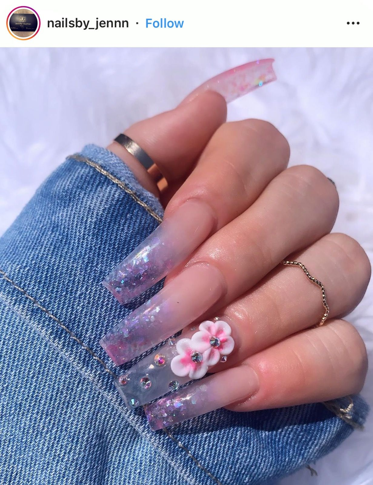 Pin by rae 🦋 on nails  in 2019 | Gel nails, Coffin nails