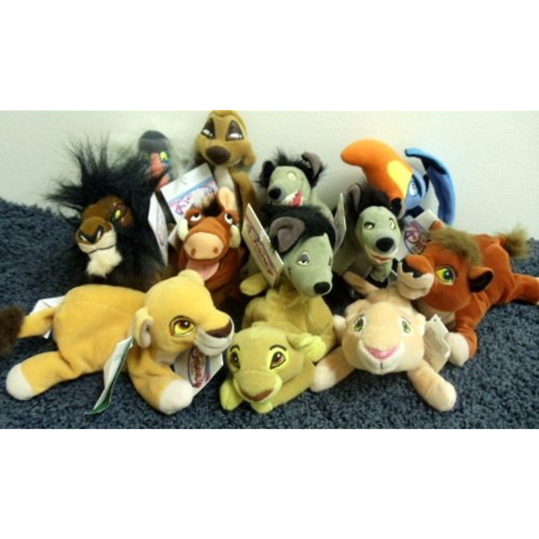 Disney Mini Bean Bag Lion King Plush Collection