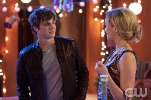 Matt Lanter As Liam Court And Arielle Kebbel As Vanessa On 90210