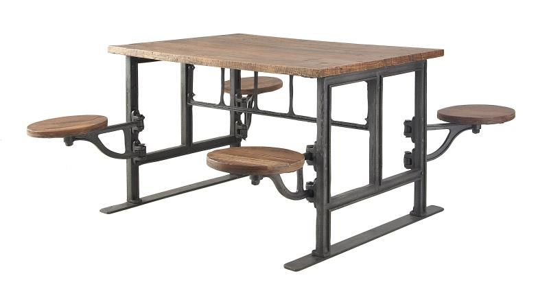 Uma Enterprises Inc The Alcatraz Table By Home Decor