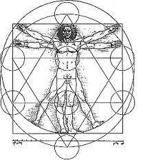 sacred chaos and divine proportion | Sacred Geometry Divine Proportions Leonardo da Vinci