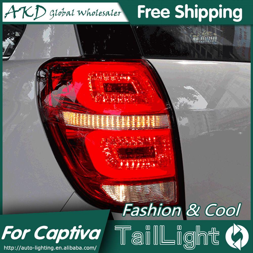 Akd Car Styling For Chevrolet Captiva Tail Lights 2008 2015 Kaptiva Led Tail Light Led Rear Lamp Drl Brake Park Si Chevrolet Captiva Led Tail Lights Tail Light
