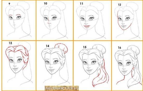 Tutoriel dessin disney dessine moi un mouton dessin - Comment dessiner une princesse disney ...