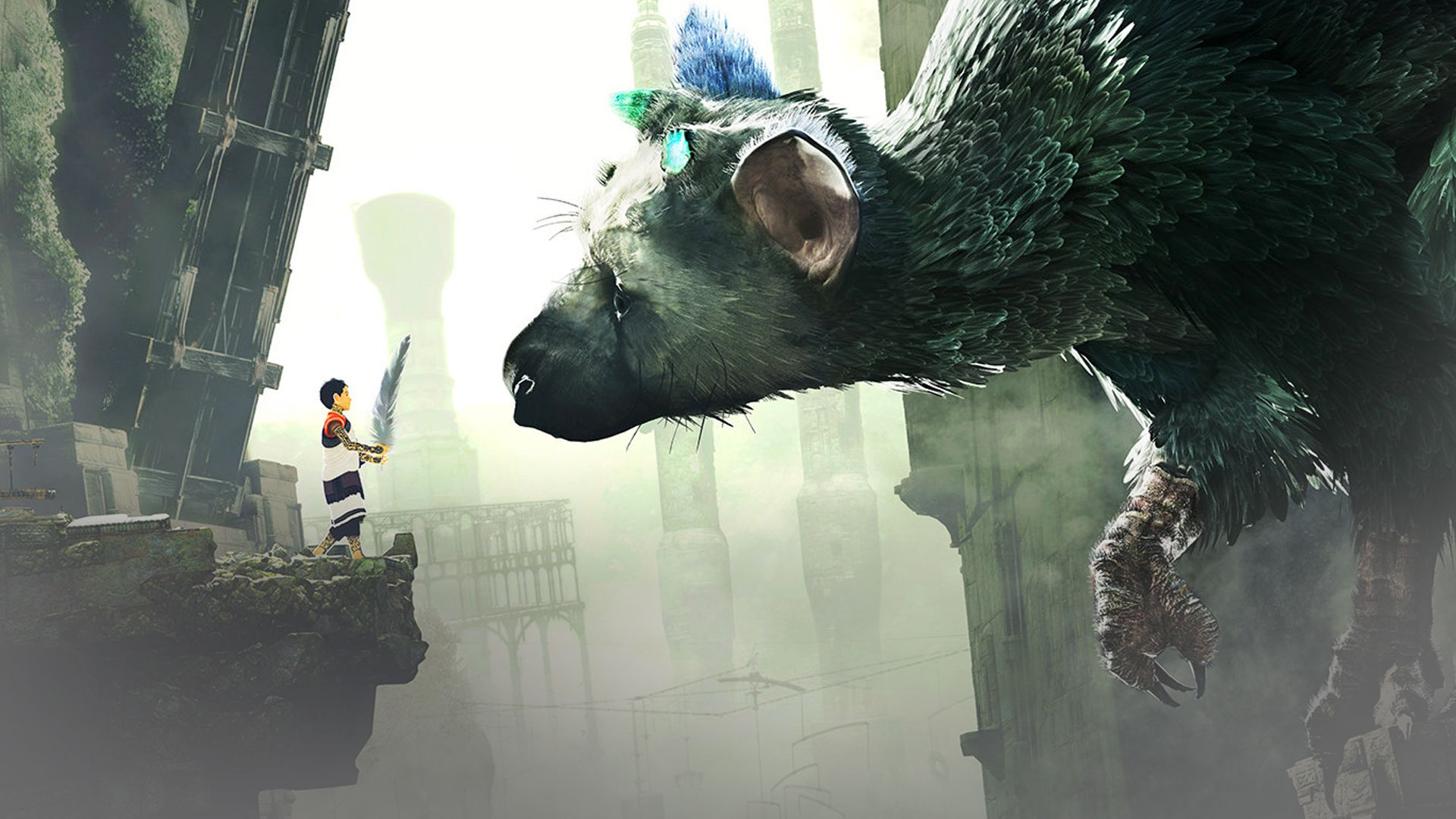 The Last Guardian Trico Pictures Shadow Of The Colossus