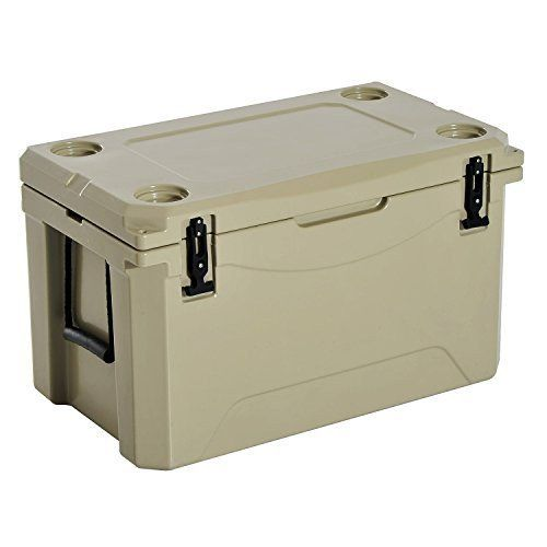 Heavy Duty Cooler 85Qt Outdoor Rotomolded Ice Chest With