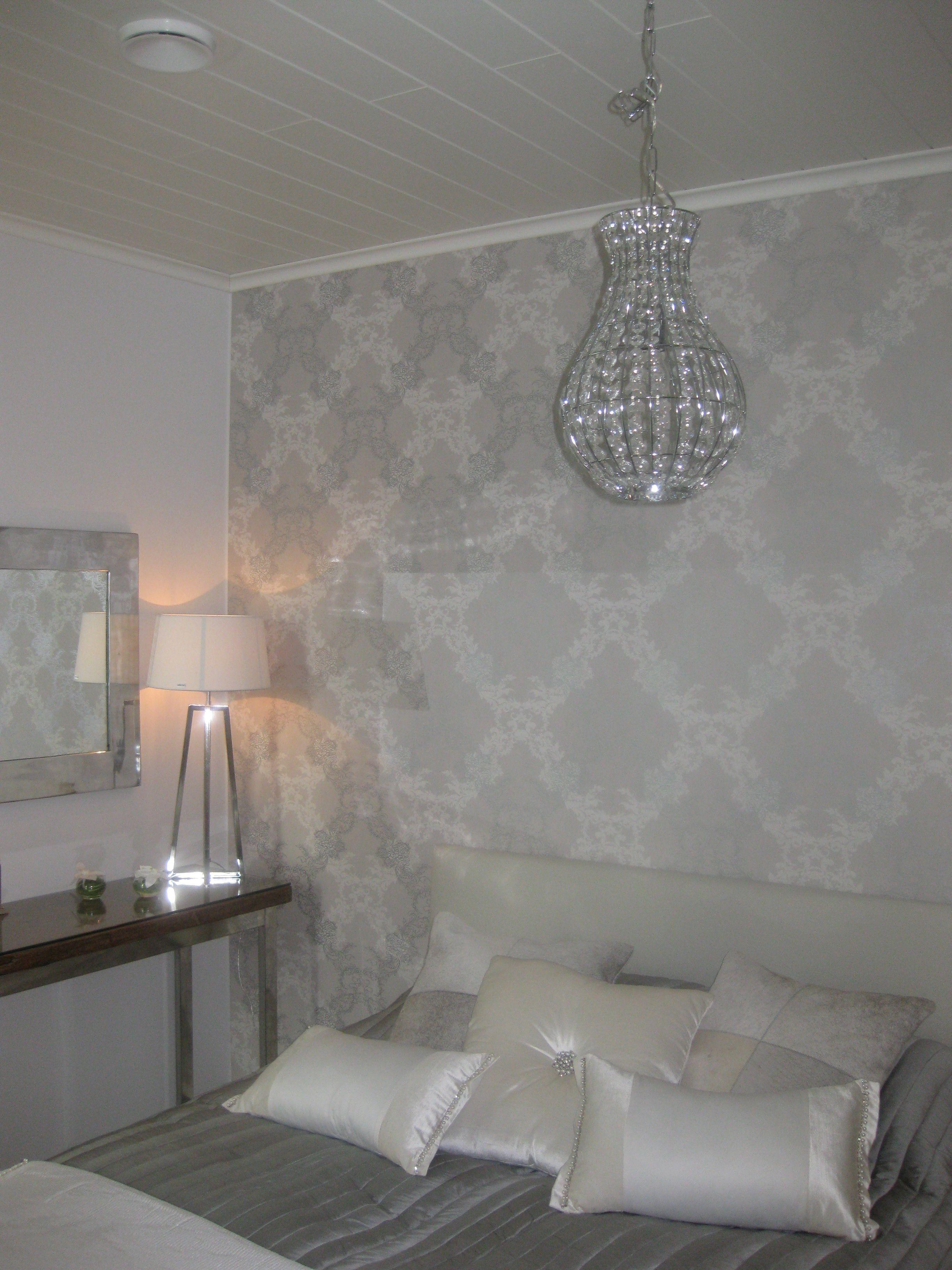 Ylellinen makuuhuone asuntomessut