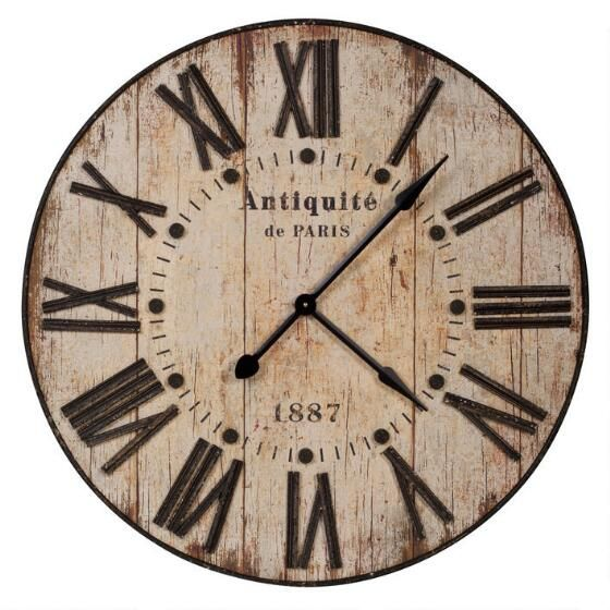 Antiquite Wall Clock From Www Urban Barn Com Clock Wall Decor Urban Barn Wall Clock