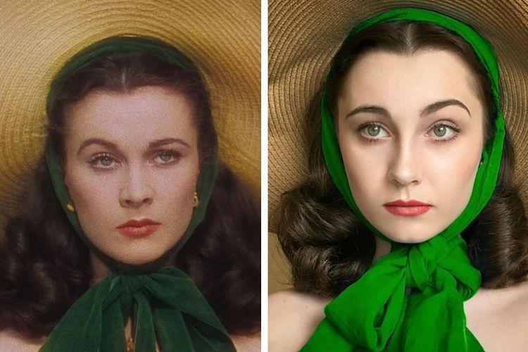 Les incroyables transformations d'Annelies van Overbeek #beaute #maquillage #tuto #transformation #artiste #art #soin #visage #monvanityideal