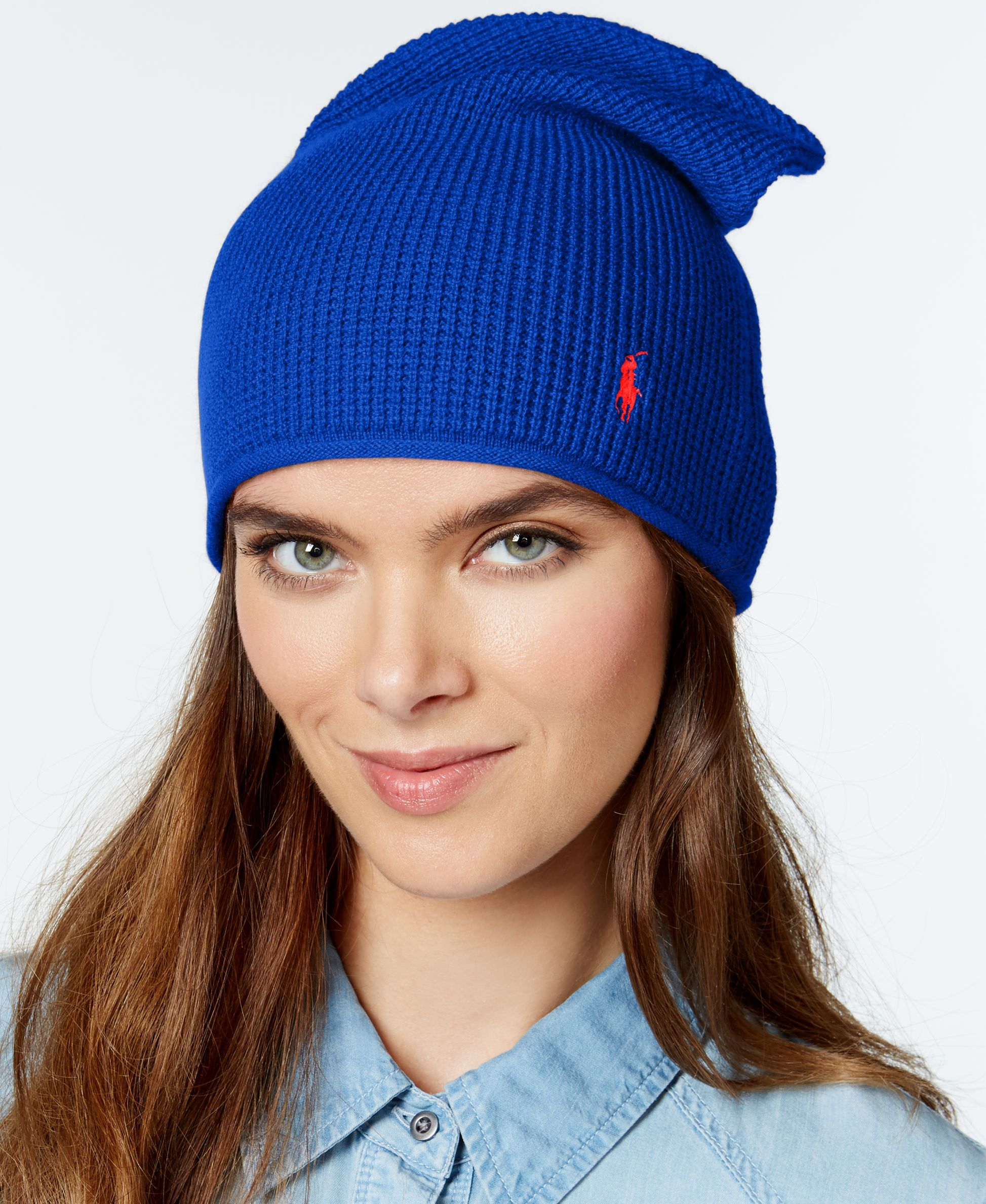 Polo Ralph Lauren Wool Cashmere Slouchy Hat  1f069e194