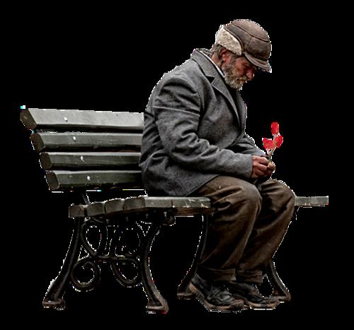 Old Man Sitting On The Bench Figur Cizimleri Cizim Cizim Egitimleri
