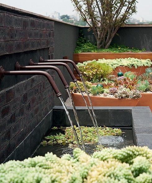 Pin By Nora Mhaouch On Dream Houses: Blog De Decoração - Arquitrecos: Fontes De Jardim
