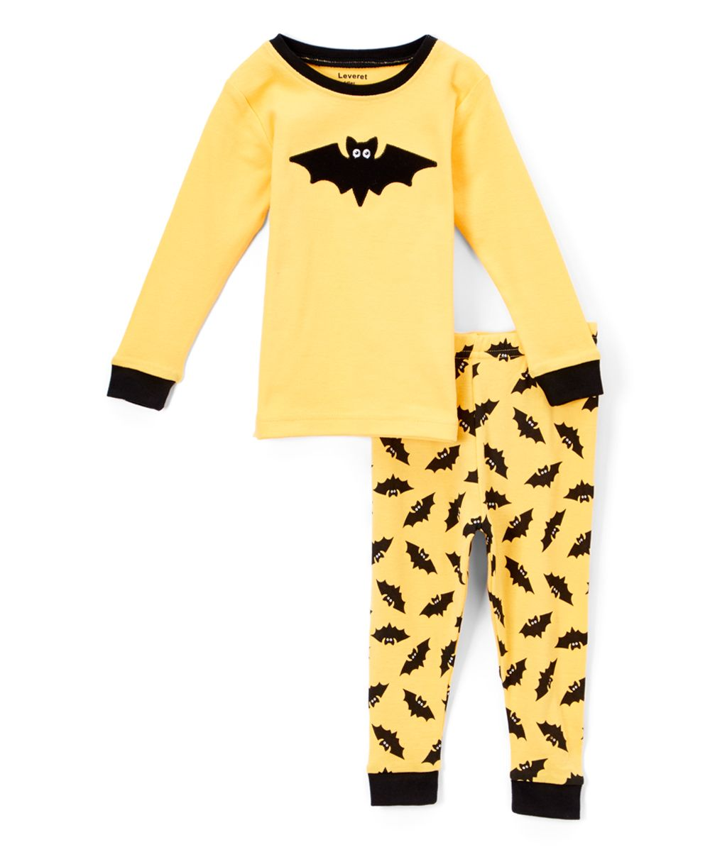 f5d985974c13 Yellow Bat Pajamas - Infant Toddler   Kids