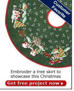 Ideas Advice Nancy S Notions Christmas Tree Skirts Patterns Christmas Sewing Tree Skirt Pattern