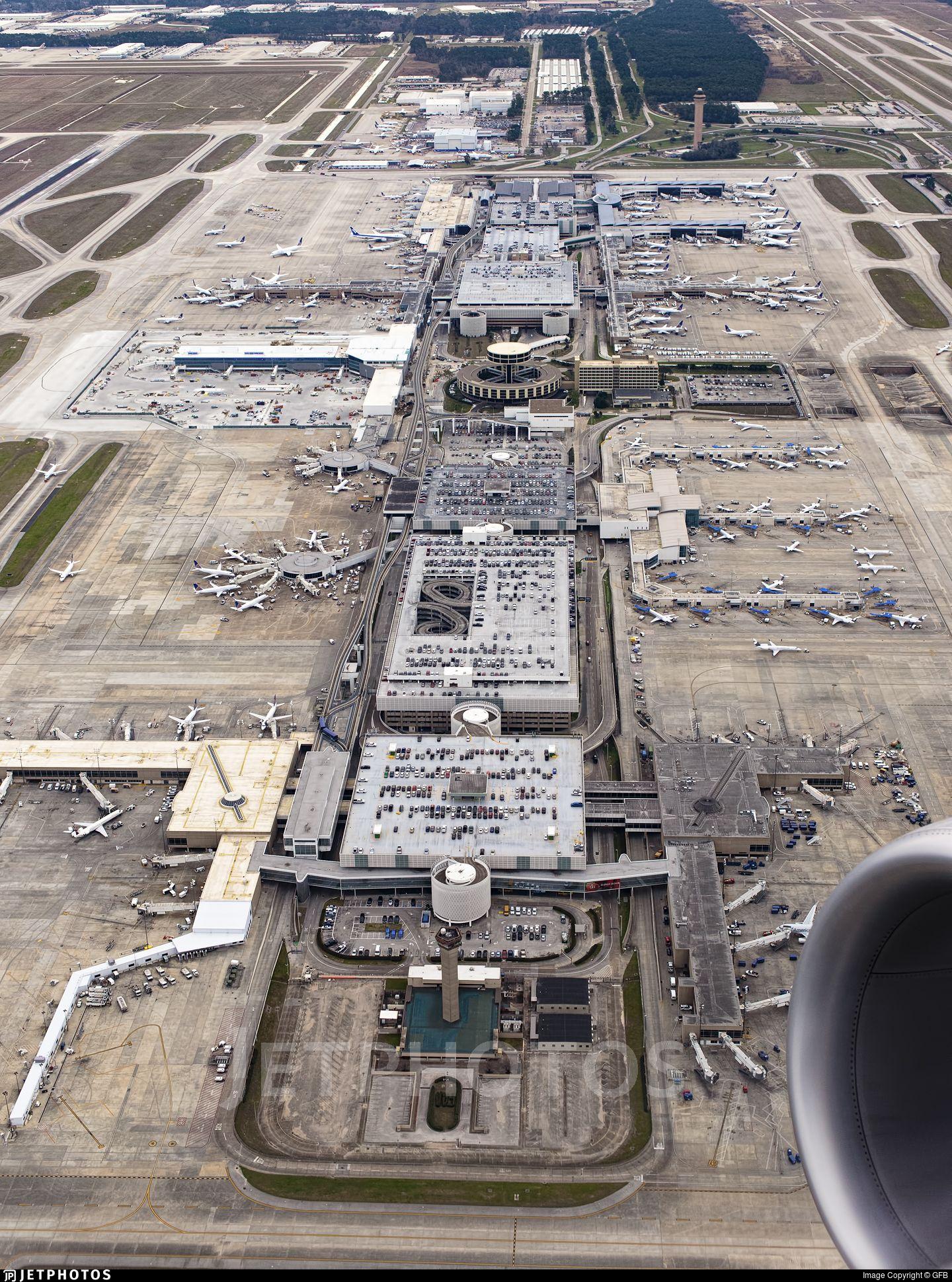 KIAH Airport Airport Overview JetPhotos Houston