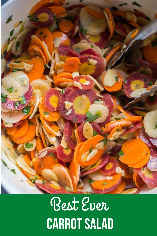 Colorful Carrot Salad Recipe Lauren S Latest In 2020 Colorful Carrot Salad Carrot Salad Carrot Salad Recipes