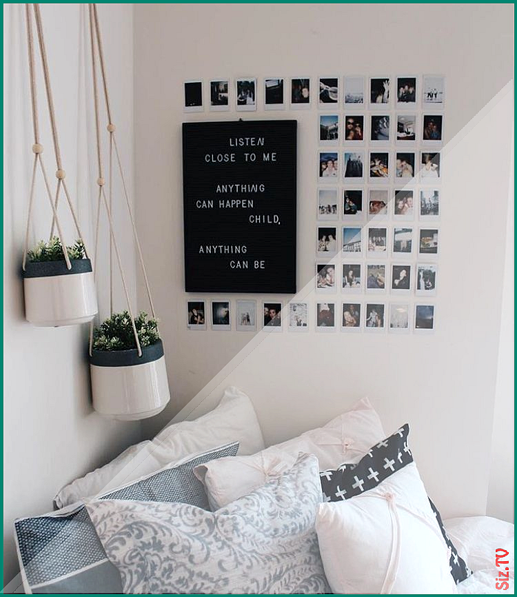 Tumblr Room Bedroom Desk Minimalist Minimalism Aesthetic White
