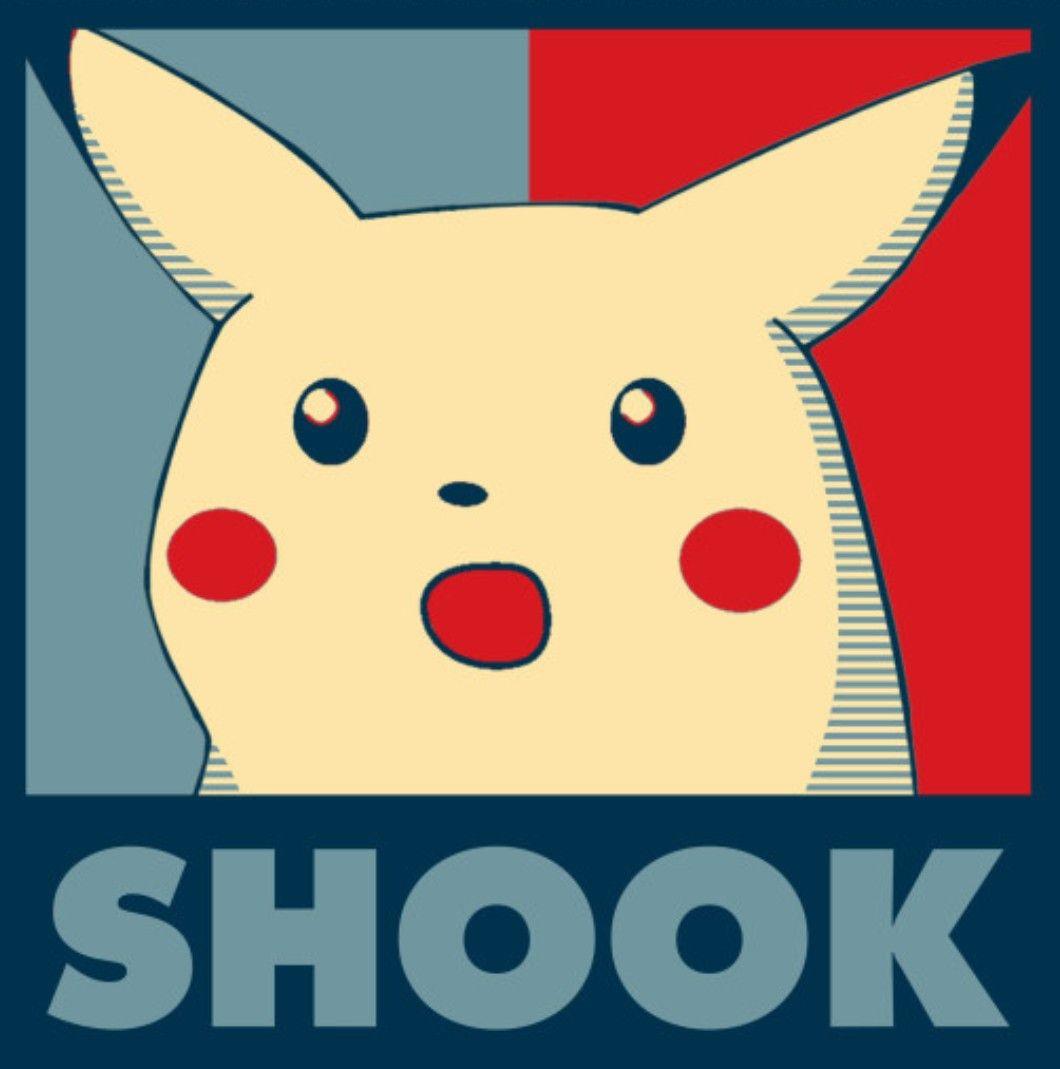 Shocked Pikachu Meme Blank | Meme Creation