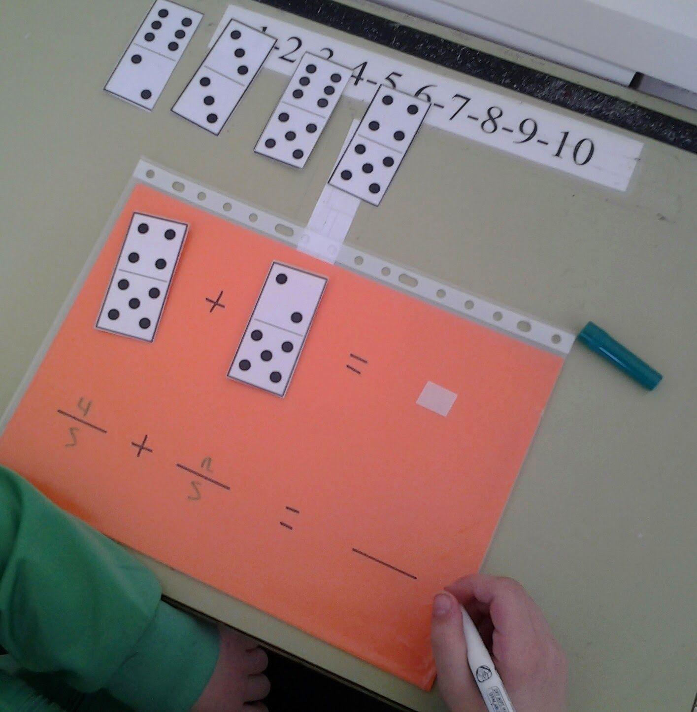 Hago Y Comprendo Fracciones Domino Educativo