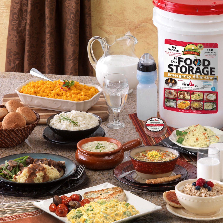 Augason farms 30day food storage emergency allinone