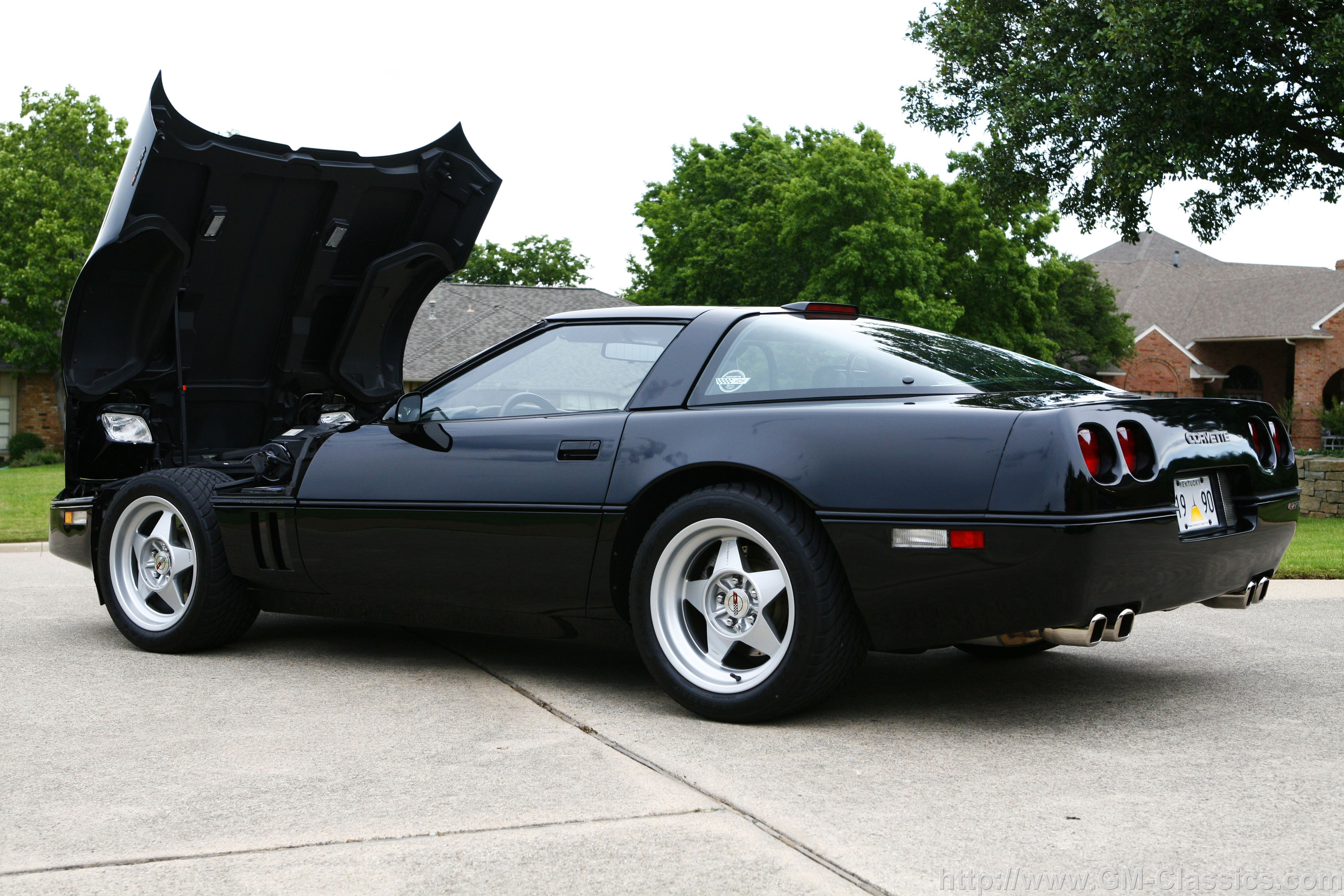 1991 Corvette Zr1 Black Google Search Corvette Chevrolet