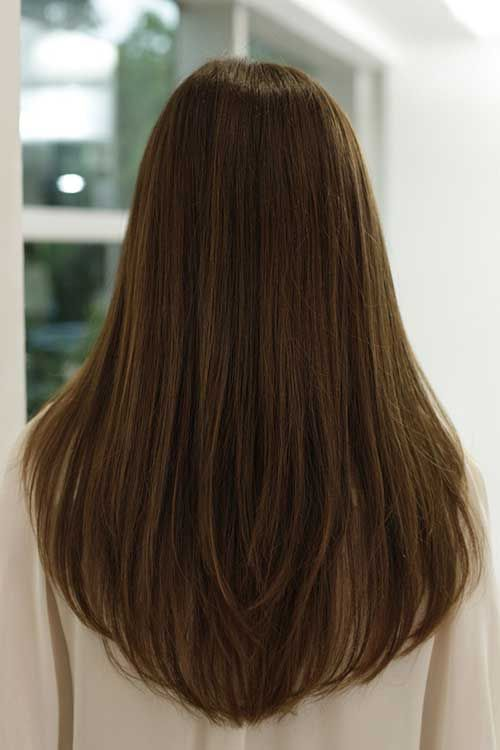 Good Long Haircuts For Women Back View   Google Search