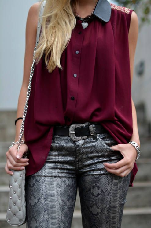 Wine Red For Fall | The Vogue Word by The Vogue Word