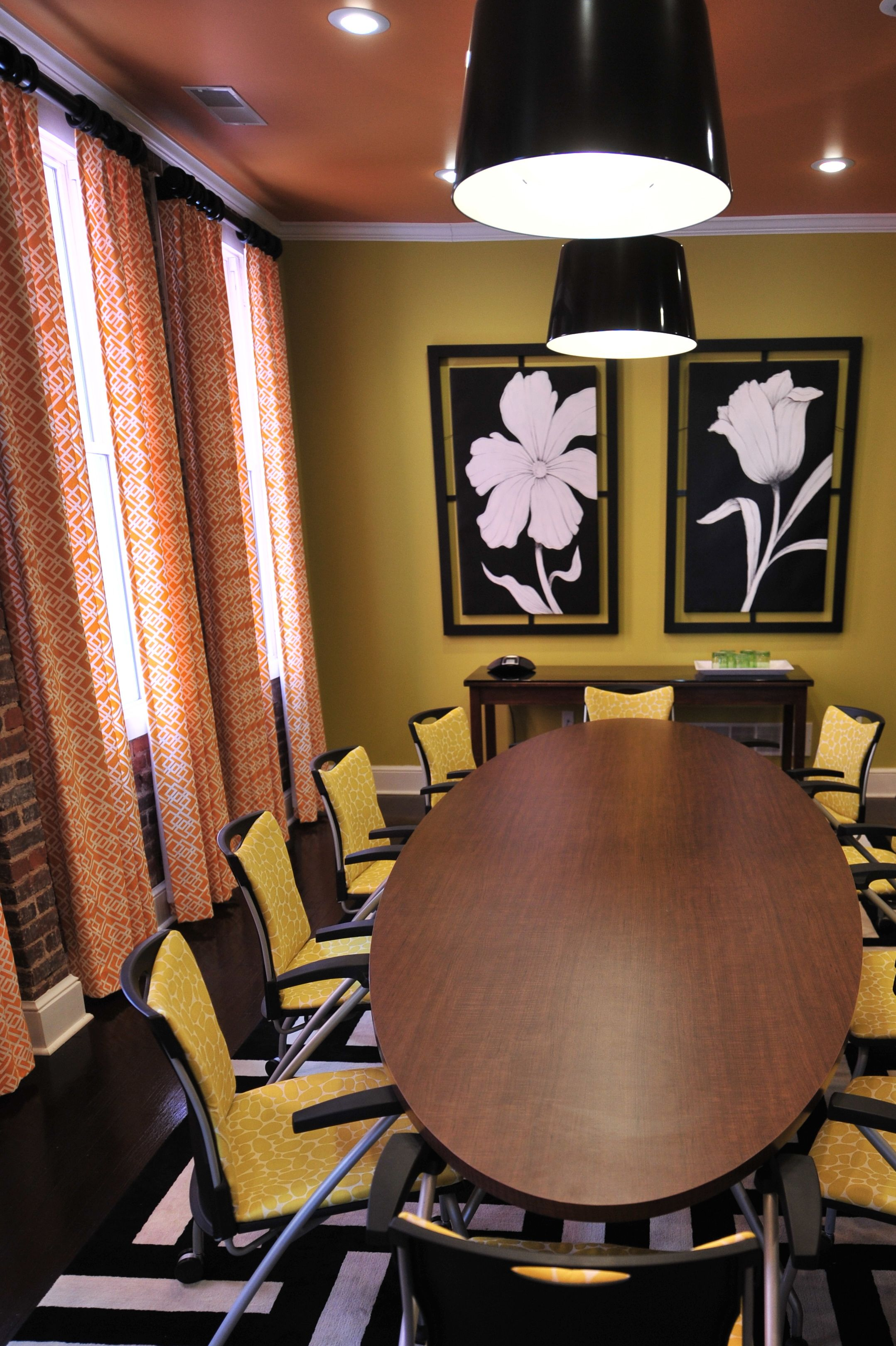 Conference Room Interior Design: Law Office Conference Room. Interior Design By Alisha Gwen