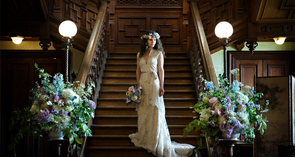 Wedding Venues With Staircase