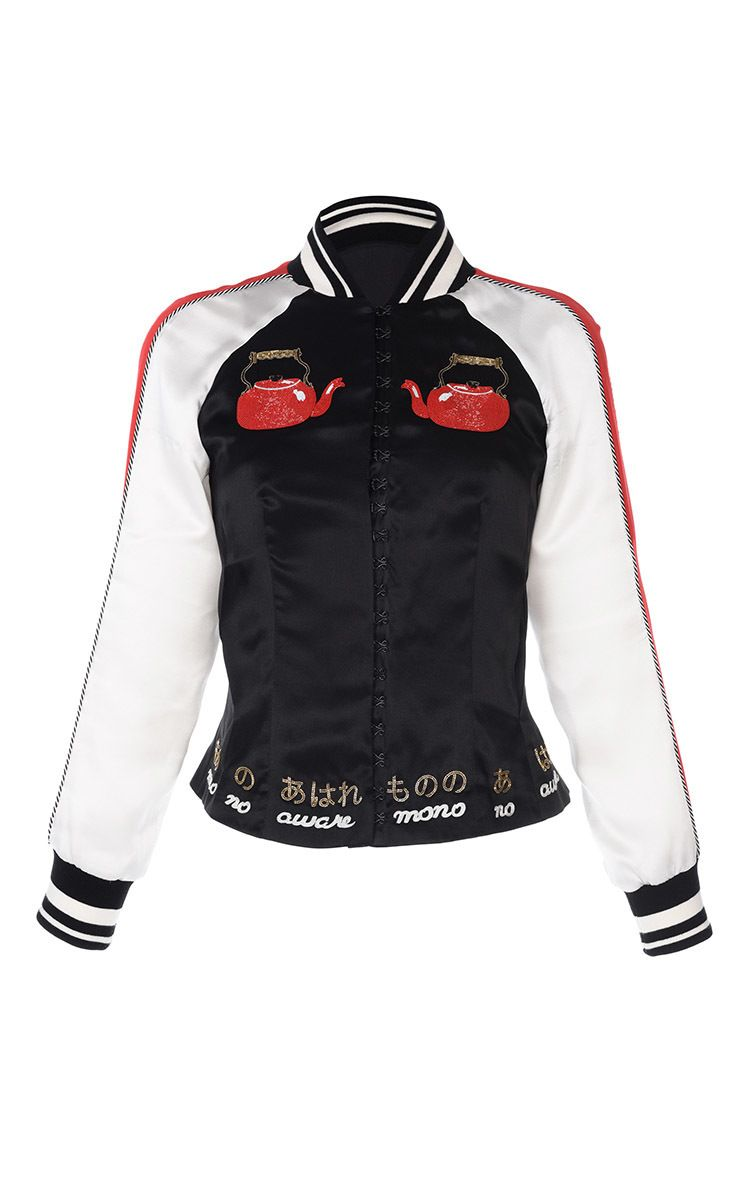 bosozoku embroidered jacket by olympia le tan for preorder on moda