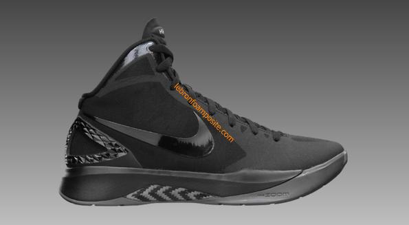 best website f2d90 623fb ... Cute Womens basketball shoes Hyperdunk 2011 Black Black Dark Grey  454138 001 ...