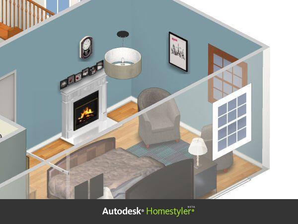 Home Design For Master Bedroom. Thanks Autodesk Homestyler!