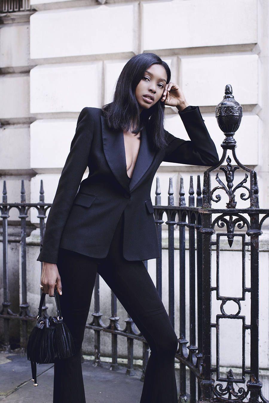 Black Blazer | Bisous Natasha