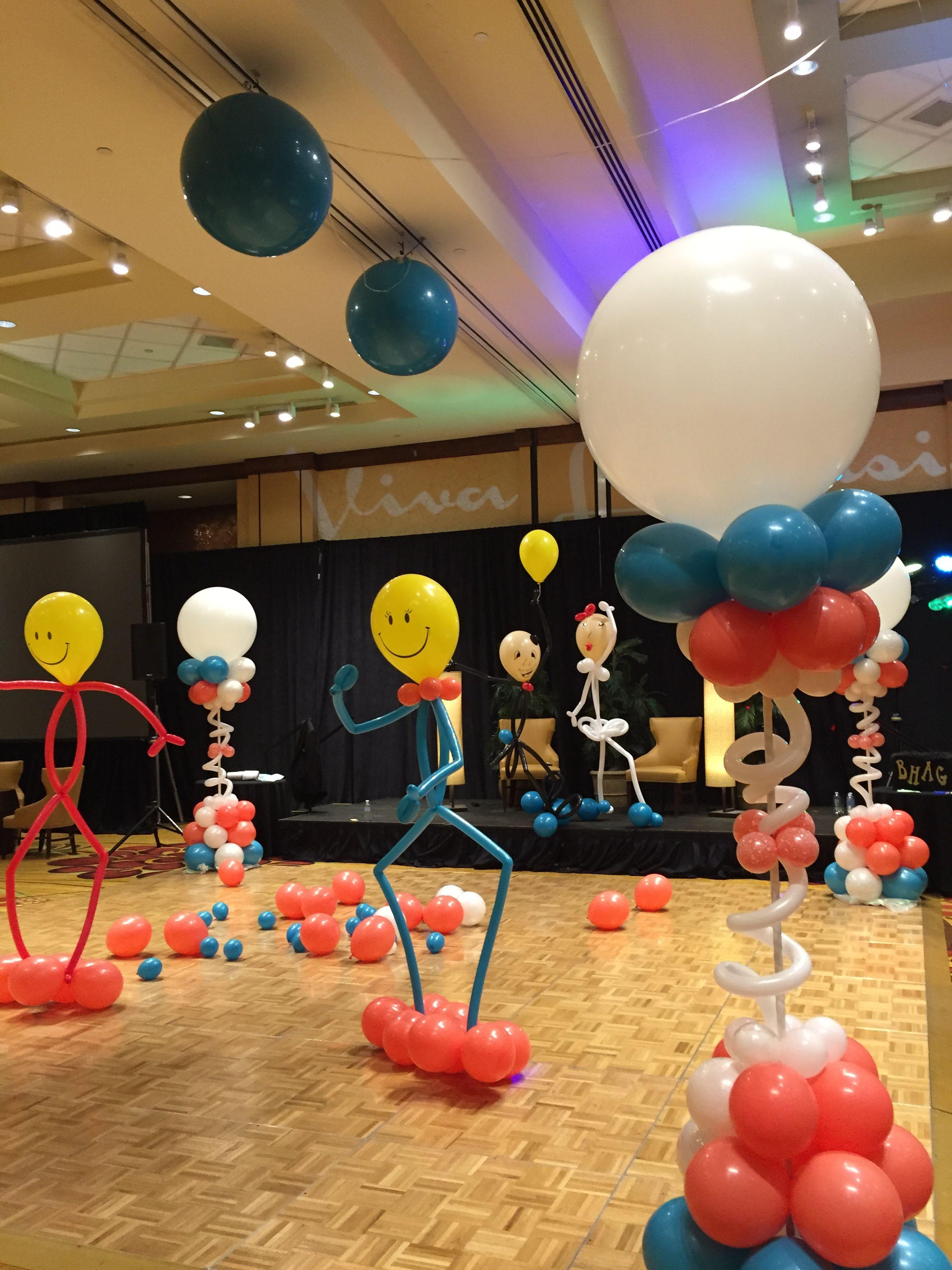 Balloon Buddies Make Dances So Much Fun By Balloon Art By Merry