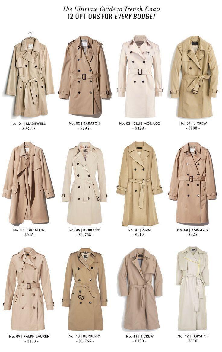 Trenchcoat Outfit Fur Den Fruhling Outfit Trenchcoat Trenchcoat Frauen