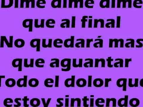 Don tetto - Dime (Lyrics)