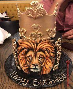 Lion Cake Design Images (Lion Birthday Cake Ideas)
