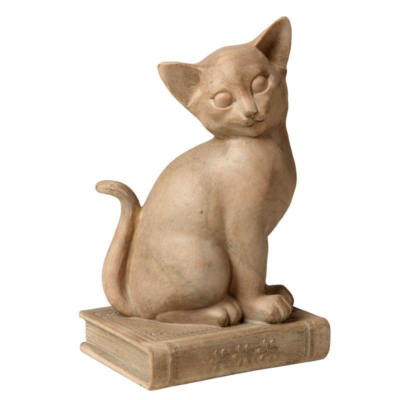 Maria Pia Casa: Escultura de Resina Gato Sancho