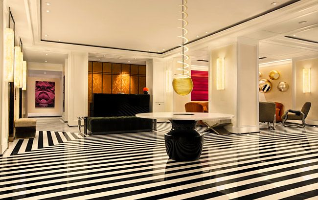 10 awesome hotel lobbies in New York City Hotel lobby Lobbies