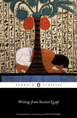 Writings From Ancient Egypt By Toby Wilkinson Paperback Barnes Noble Ancient Egypt Penguin Classics Egypt