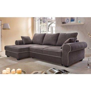 Chaise longue izquierda con cama LUIGI sofá conforama