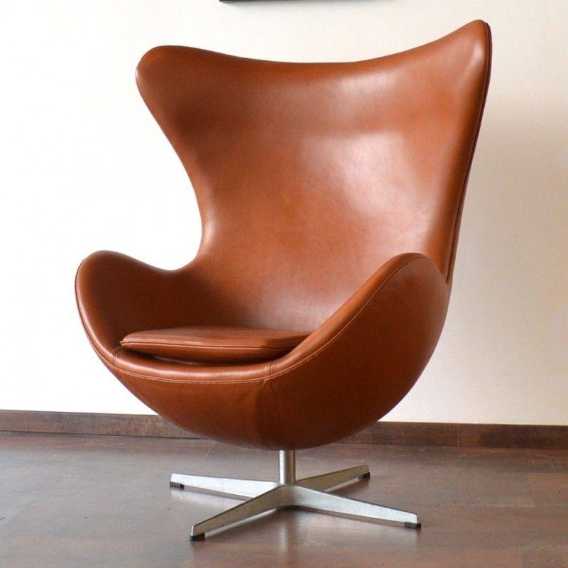 Located Using Retrostart.com U003e Egg Lounge Chair By Arne Jacobsen For Fritz  Hansen
