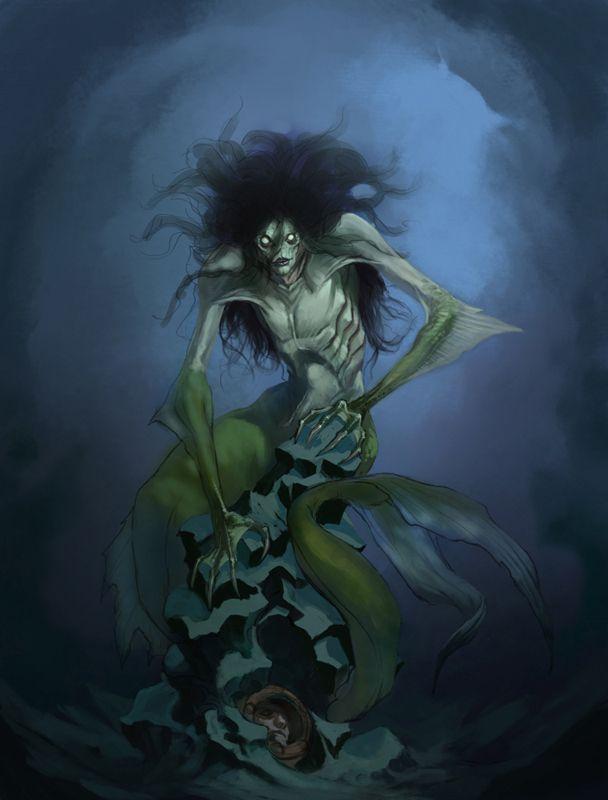 Ugly Ass Mermaid by ForrestImel on DeviantArt