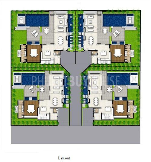 Ban0657 Modern And Contemporary Villas For Sale Resort Design Plan Bungalow Floor Plans Resort Design