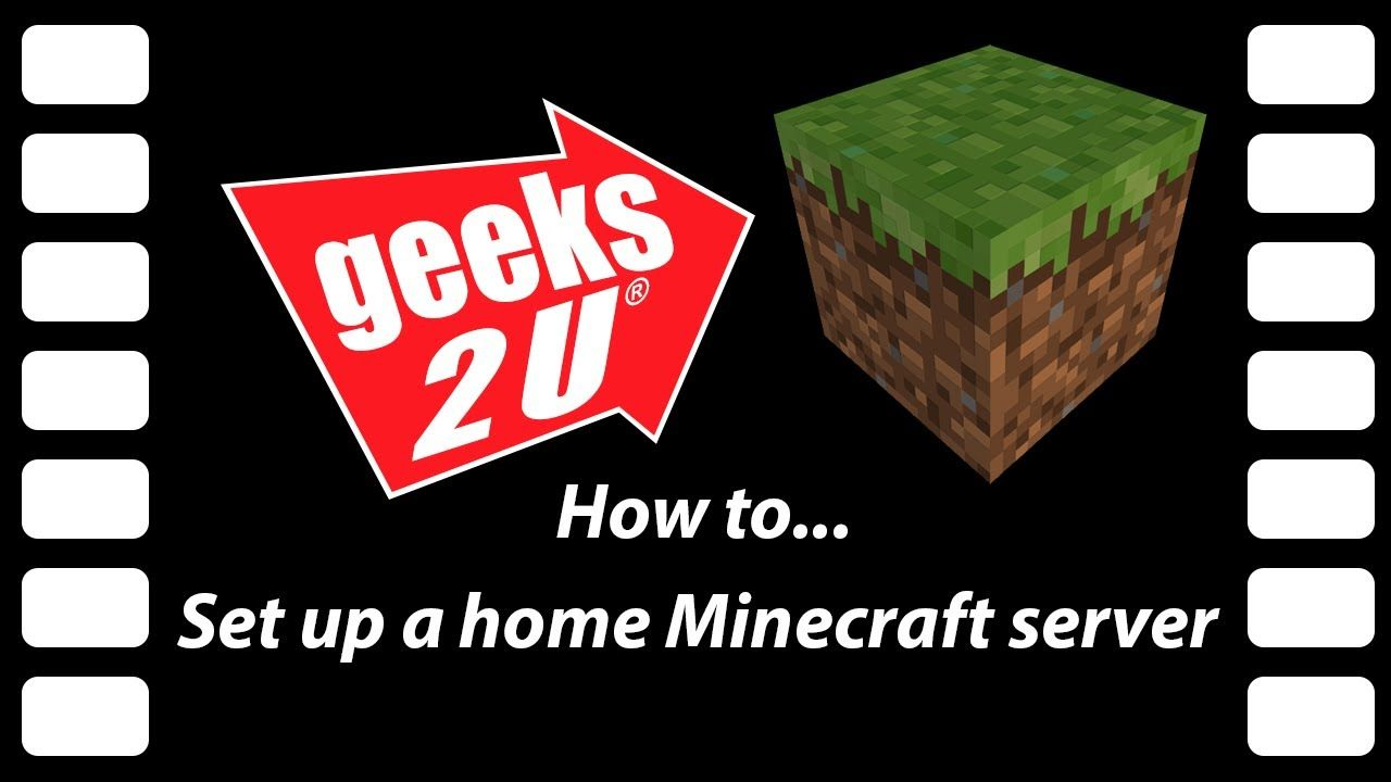 How To Set Up Your Own Home Minecraft Server Minecraft Tech Diy Server