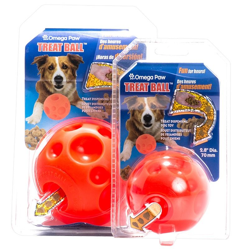 Omega Paw Omega Paw Tricky Treat Ball