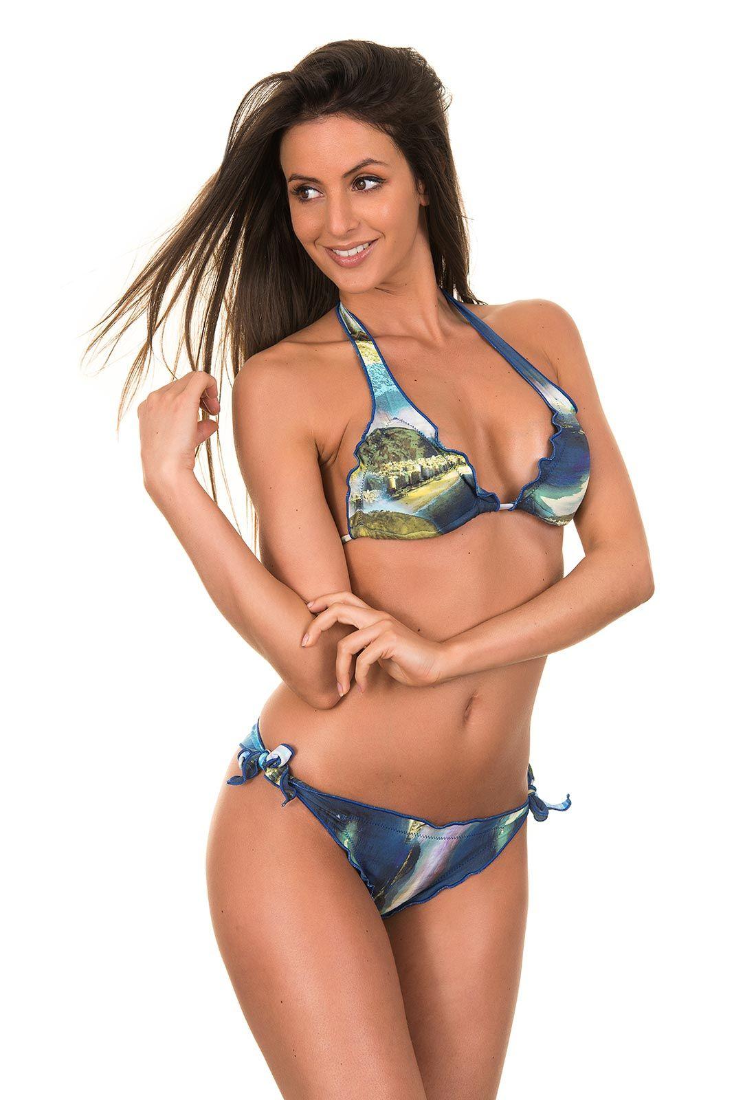 Maryssil Copacabana Ruffle Scrunch Bikini #brazilian #bikini #maryssil  #rioswimshop