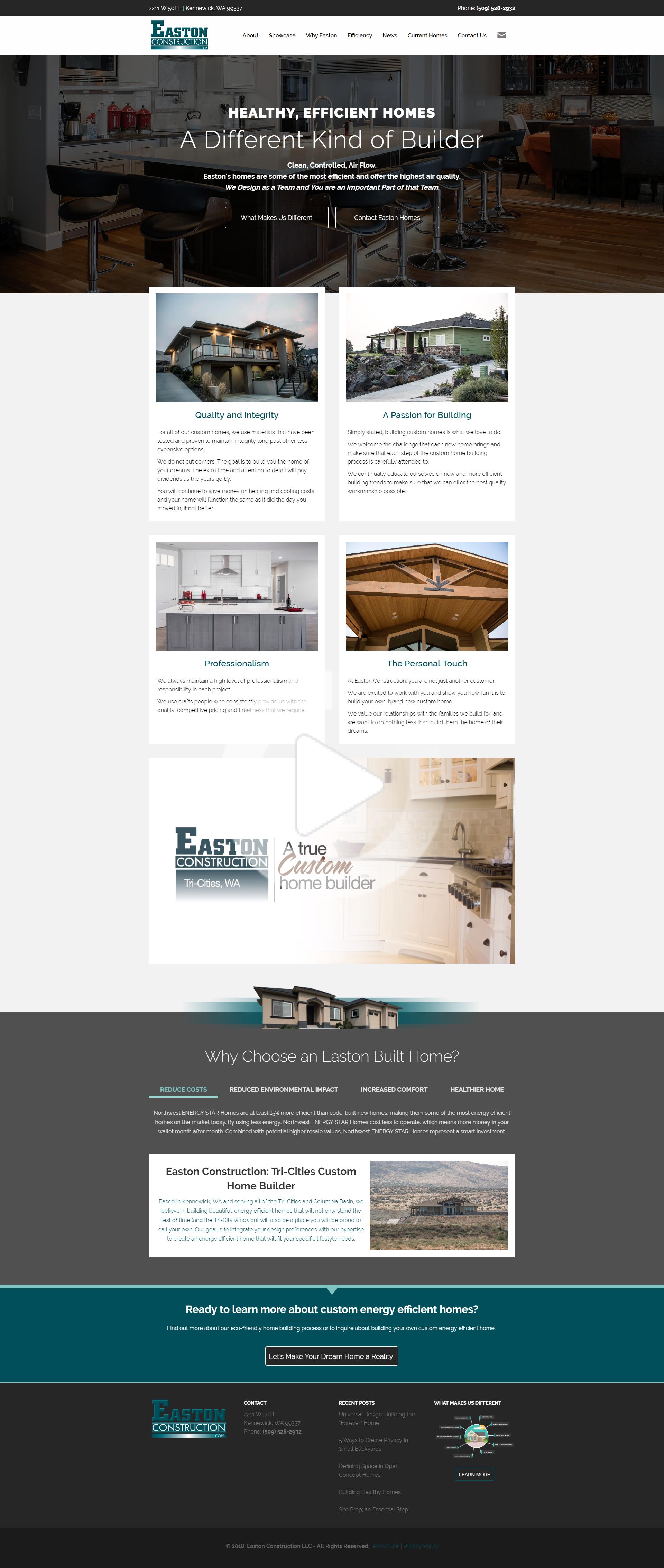 Construction Website Design In 2020 Real Estate Website Design Digital Marketing Design Portfolio Web Design