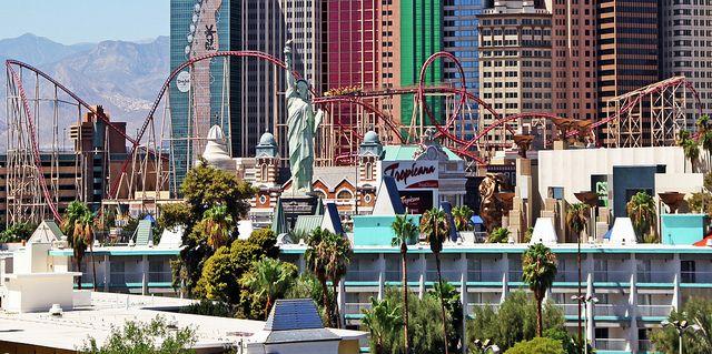 The Roller Coaster New York New York Las Vegas Hotel Casino